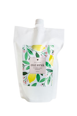 Laundry – Lemon 1200 ml Refill bag