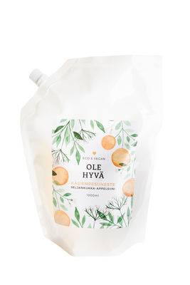 Handwash – Elder Blossom 1000 ml Refill bag