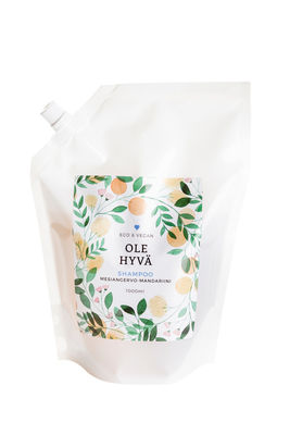 Shampoo – Meadowsweet 1000 ml Refill bag