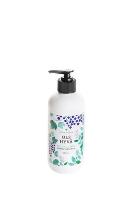 Shower Gel – Blackcurrant 350ml Bottle